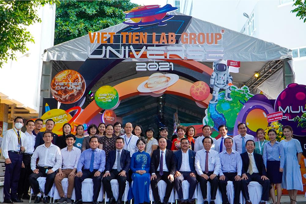 Việt Tiên Lab Group nhà tài trợ Kim Cương Ngày hội Khoa học kỹ thuật Răng Hàm Mặt 2021